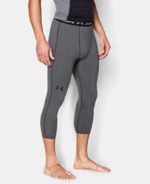 Men's UA HeatGear® Armour ¾ Compression Leggings LIMITED TIME: FREE SHIPPING  $29.99