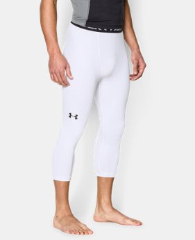 Men's UA HeatGear® Armour ¾ Compression Leggings LIMITED TIME: FREE U.S. SHIPPING 3 Colors $20.24 to $26.99