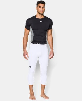New Arrival  Men's UA HeatGear® Armour ¾ Compression Leggings  4 Colors $39.99