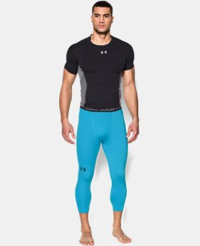 Men's UA HeatGear® Armour ¾ Compression Leggings