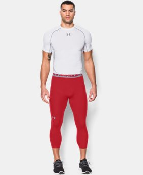 Men's UA HeatGear® Armour ¾ Compression Leggings  1 Color $20.99 to $26.99