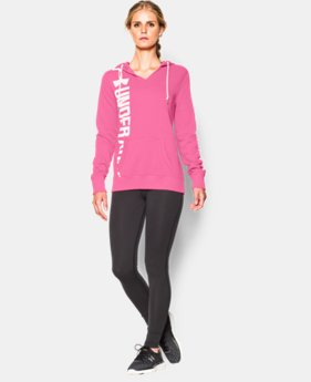 Women's UA Favorite Fleece Branded Hoodie