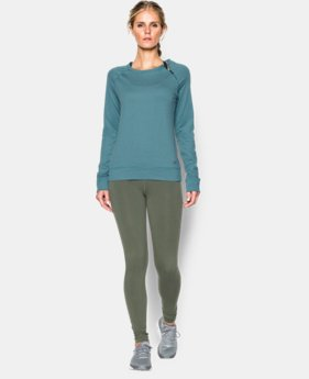 Women's UA ColdGear® Cozy Novelty Zip Crew  9 Colors $39.74 to $52.99