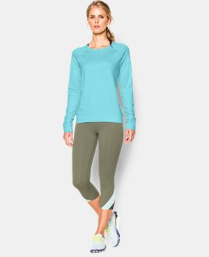 Women's UA ColdGear® Cozy Novelty Zip Crew LIMITED TIME: FREE U.S. SHIPPING 2 Colors $39.37 to $52.49