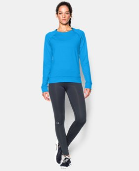 Women's UA ColdGear® Cozy Novelty Zip Crew LIMITED TIME OFFER + FREE U.S. SHIPPING 1 Color $39.37 to $52.99