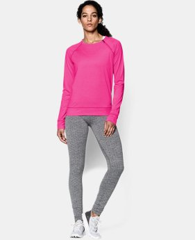 Women's UA ColdGear® Cozy Novelty Zip Crew  1 Color $59.99