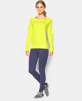 Women's UA ColdGear® Cozy Novelty Zip Crew LIMITED TIME OFFER + FREE U.S. SHIPPING 1 Color $39.37 to $52.49