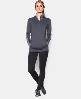Women's UA ColdGear® ½ Zip Hoodie  1 Color $59.99