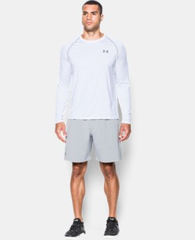 New Arrival  Men's UA Tech™ Long Sleeve T-Shirt LIMITED TIME: FREE SHIPPING 2 Colors $34.99