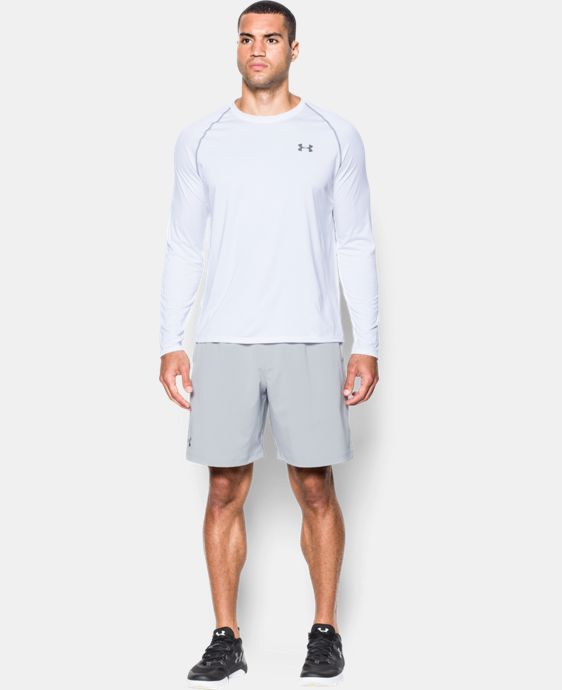 New Arrival  Men's UA Tech™ Long Sleeve T-Shirt  1 Color $34.99