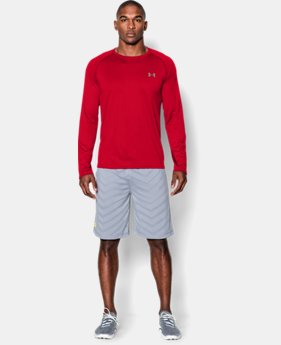 Men's UA Tech™ Long Sleeve T-Shirt  1 Color $26.24