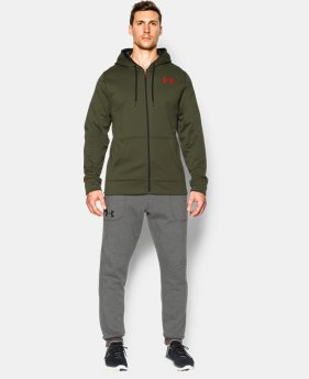 Men's UA Storm Armour® Fleece Zip Hoodie  2 Colors $48.99