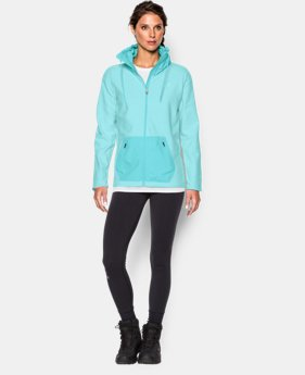 Women's UA ColdGear® Infrared Hybrid Full Zip