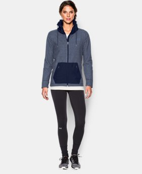 Women's UA ColdGear® Infrared Hybrid Full Zip  1 Color $71.99