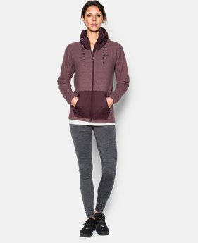 Women's UA ColdGear® Infrared Hybrid Full Zip  1 Color $53.99