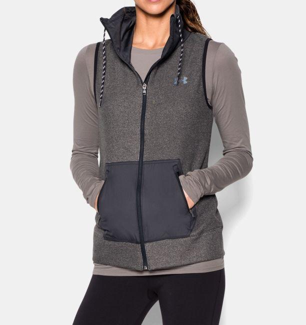 07f38d5f1 UA ColdGear® Infrared Survivor Hybrid Full Zip Vest