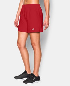 Women's UA Hustle Short LIMITED TIME: FREE SHIPPING  $29.99