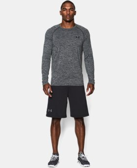 Men's UA Tech™ Patterned Long Sleeve T-Shirt  1 Color $22.99