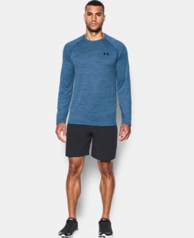 Best Seller Men's UA Tech™ Patterned Long Sleeve T-Shirt LIMITED TIME: FREE SHIPPING 2 Colors $29.99