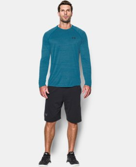 Men's UA Tech™ Patterned Long Sleeve T-Shirt LIMITED TIME OFFER + FREE U.S. SHIPPING 2 Colors $22.49