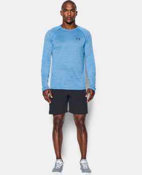 Men's UA Tech™ Patterned Long Sleeve T-Shirt  3 Colors $22.49