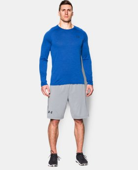 Men's UA Tech™ Patterned Long Sleeve T-Shirt
