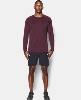 Men's UA Tech™ Patterned Long Sleeve T-Shirt  1 Color $34.99