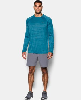 Men's UA Tech™ Patterned Long Sleeve T-Shirt LIMITED TIME OFFER 3 Colors $20.99