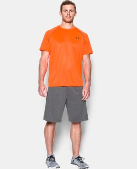 Men's UA Tech™ Printed Short Sleeve T-Shirt  1 Color $27.99