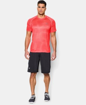 Men's UA Tech™ Printed Short Sleeve T-Shirt