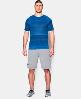Men's UA Tech™ Printed Short Sleeve T-Shirt  1 Color $20.99