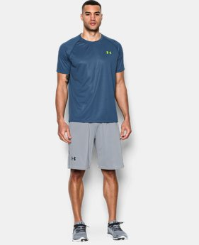 Men's UA Tech™ Patterned Short Sleeve T-Shirt  1 Color $29.99