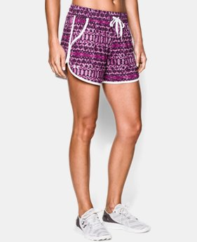 Women's UA Printed Takeover Short