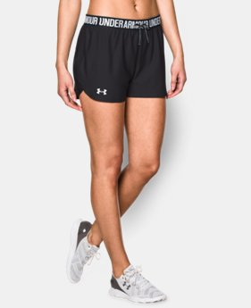 Best Seller Women's UA Play Up Shorts LIMITED TIME: FREE SHIPPING 3 Colors $24.99