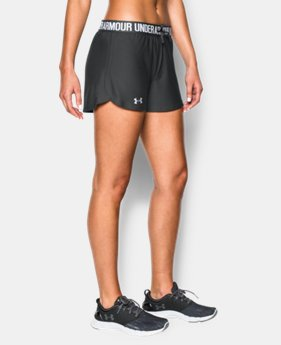 Best Seller Women's UA Play Up Shorts  4 Colors $18.99 to $24.99