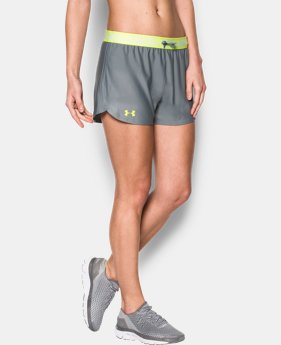 Best Seller Women's UA Play Up Shorts  6 Colors $18.99 to $24.99
