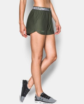 Women's UA Play Up Shorts  1 Color $24.99