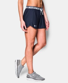Best Seller Women's UA Play Up Shorts  3 Colors $18.99 to $24.99