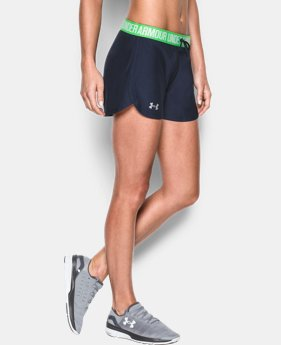 Women's UA Play Up Shorts LIMITED TIME: FREE U.S. SHIPPING 3 Colors $11.24 to $24.99