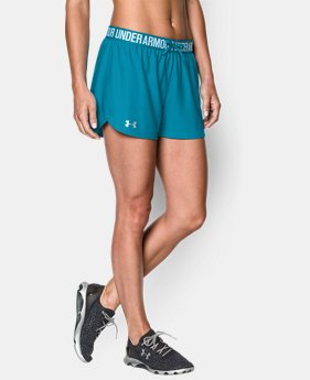 Women's UA Play Up Shorts  4 Colors $14.99 to $24.99