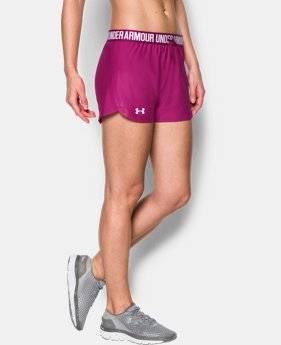 Best Seller Women's UA Play Up Shorts  4 Colors $24.99