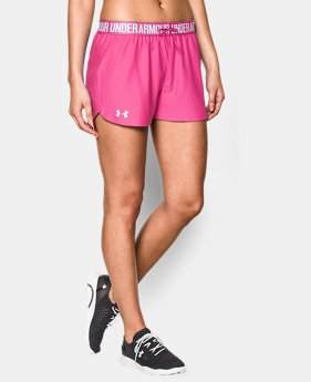 Women's UA Play Up Shorts LIMITED TIME: FREE U.S. SHIPPING 4 Colors $11.24 to $18.99