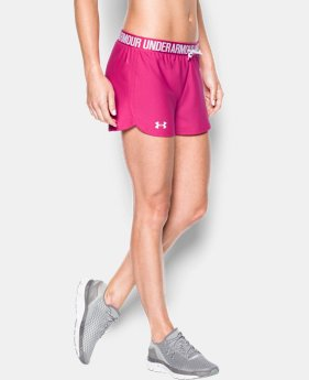 Women's UA Play Up Shorts  7 Colors $29.99