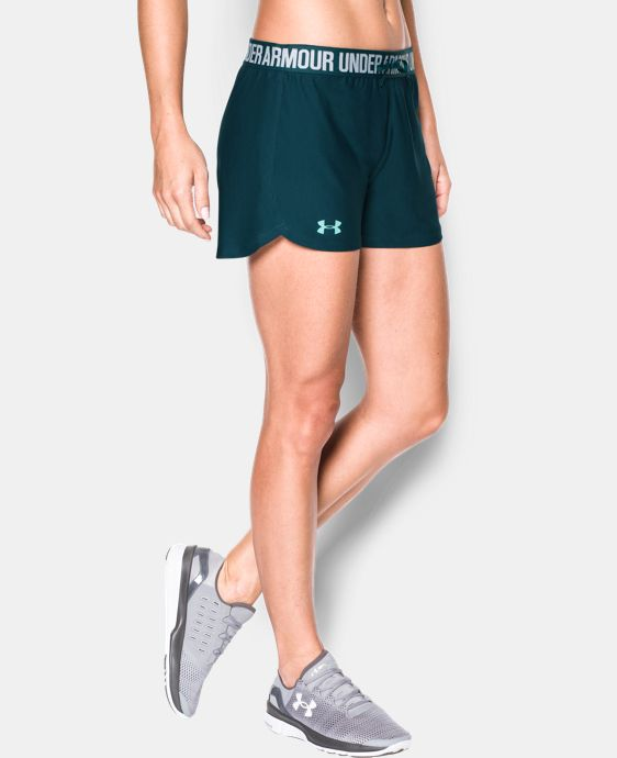 Women's UA Play Up Shorts- 2 For $30  4 Colors $22.99