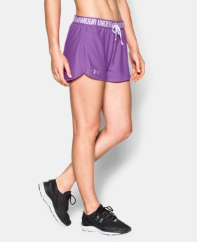 Women's UA Play Up Shorts  1 Color $11.24 to $18.99
