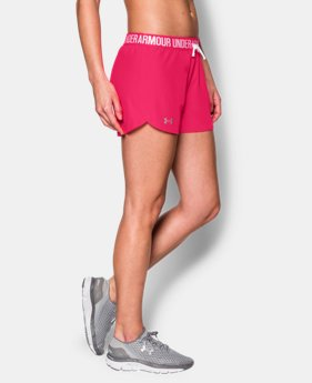 Women's UA Play Up Shorts EXTRA 25% OFF ALREADY INCLUDED 1 Color $14.24 to $17.49