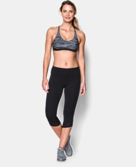 Women's UA Armour Low Printed Bra   $17.99 to $22.99