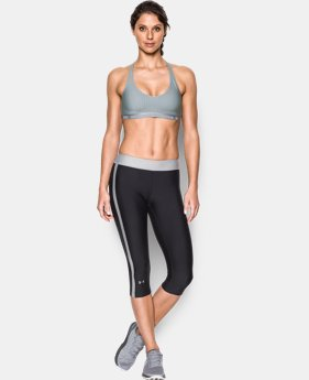 Women's UA Armour Low Printed Bra   $29.99