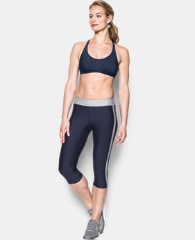 Women's UA Armour Low Printed Bra  1 Color $29.99