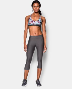 Women's UA Armour Low Printed Bra  10 Colors $17.99 to $22.99